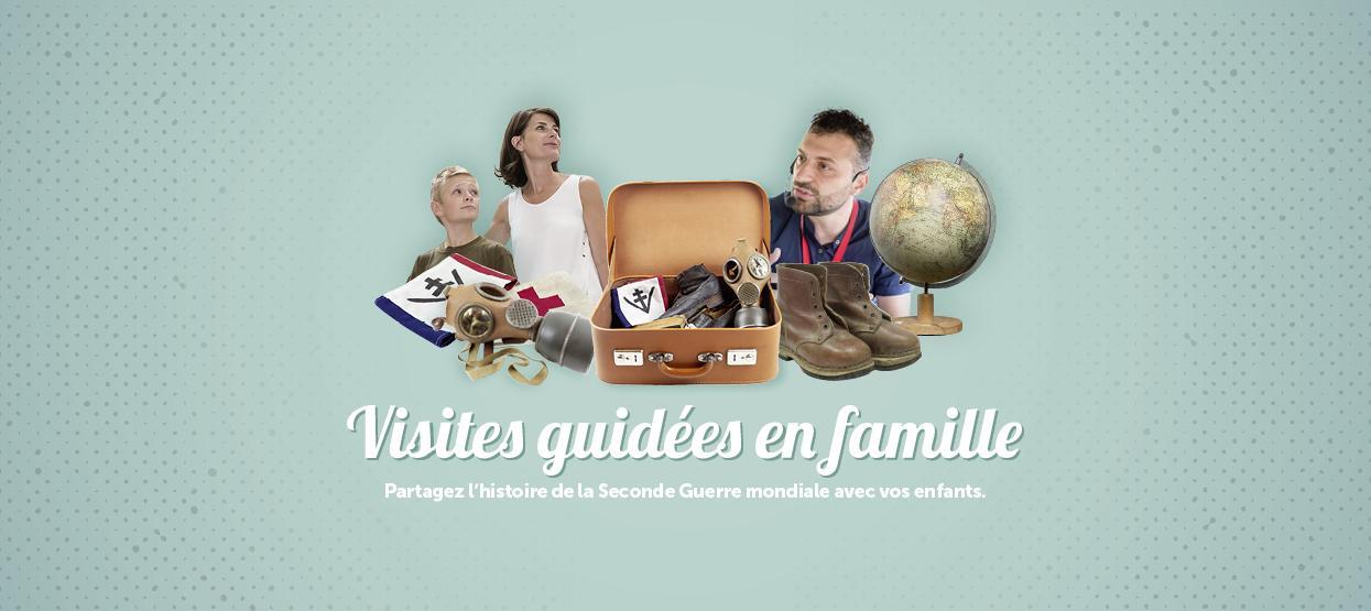 Découvrez nos visites guidées en famille