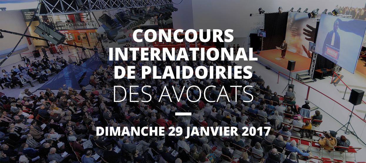 Concours international de plaidoiries des avocats