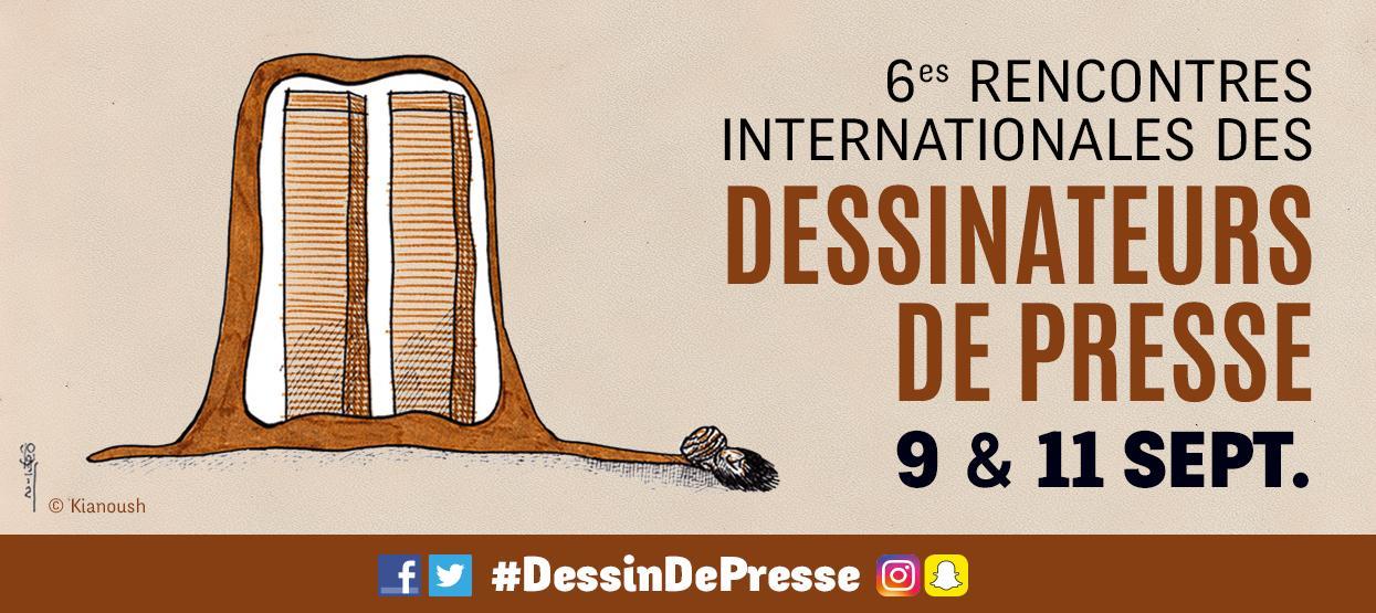6es rencontres internationales des dessinateurs de presse