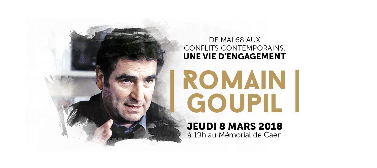 De Mai 68 aux conflits contemporains, une vie d'engagement : Romain Goupil