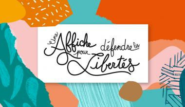 Une affiche pour défendre les libertés