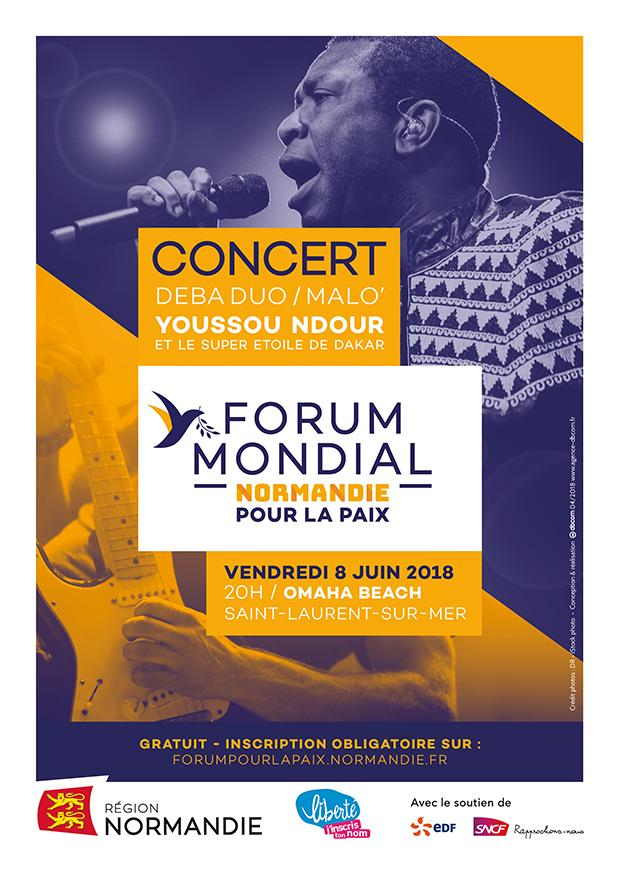 Concert Forum mondial pour la paix 2018