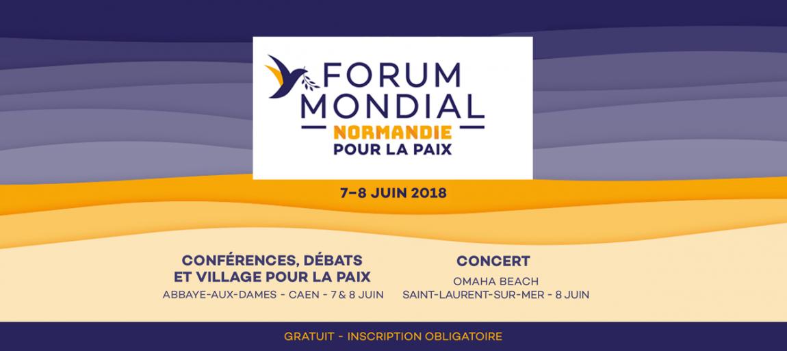 Forum mondial pour la paix 2018