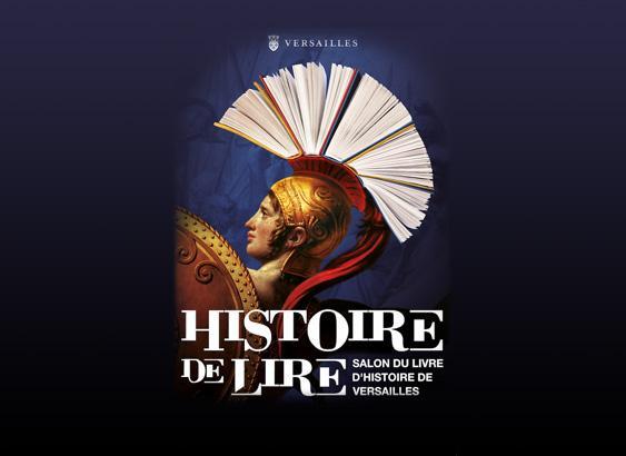 12e édition du salon du livre de Versailles - Histoire de lire