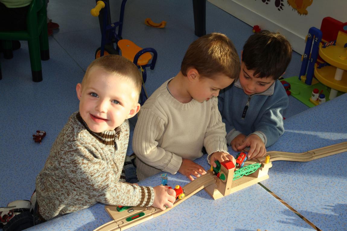 Le jardin d'enfants