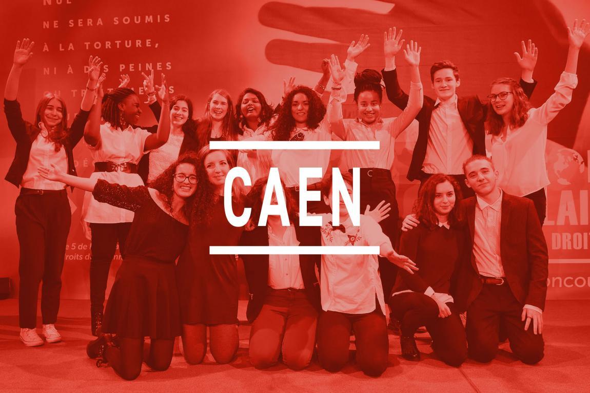 Les finalistes de Caen
