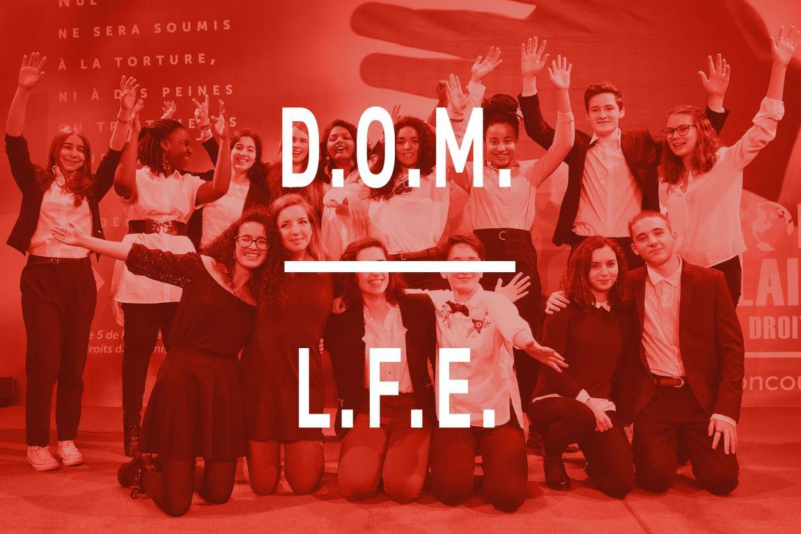 Les finalistes des DOM et LFE